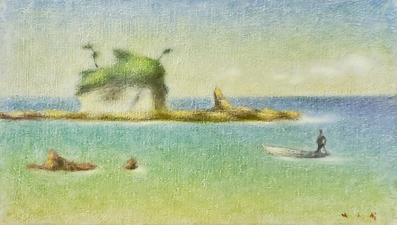 牛島憲之「伊豆の海」