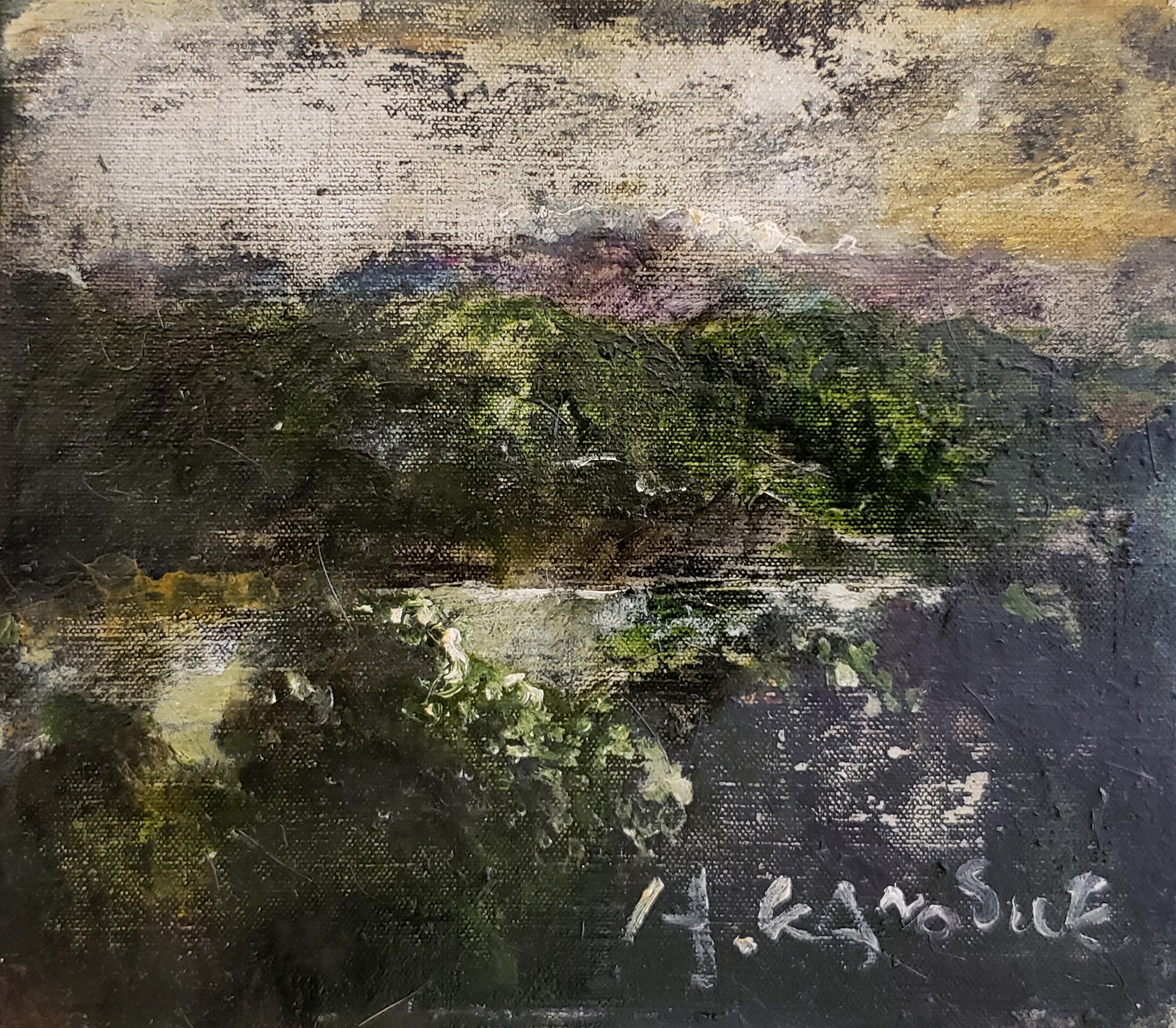 彼末宏「諏訪湖」